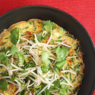 Crisp Rice Omelet
