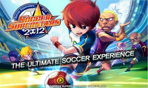 لعبة كرة القدم الخارقة والمميزة Soccer Superstars 2012 v1.0.0
