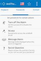 Screenshot of Antitheft Droid SMS - Security