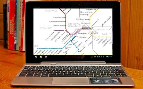 Los Angeles Subway Map - screenshot thumbnail
