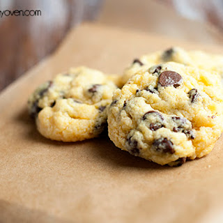 Chocolate Chip Gooey Butter Cookies.