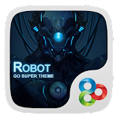 Robot GO Launcher Super Theme