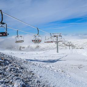 Serra da Estrela by Alexandre Mestre - Sports & Fitness Snow Sports ( snowboard, ski, winter, cold, snow sports, snow, serra da estrela, snowsports, portugal,  )