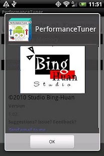 Performance Tuner - screenshot thumbnail