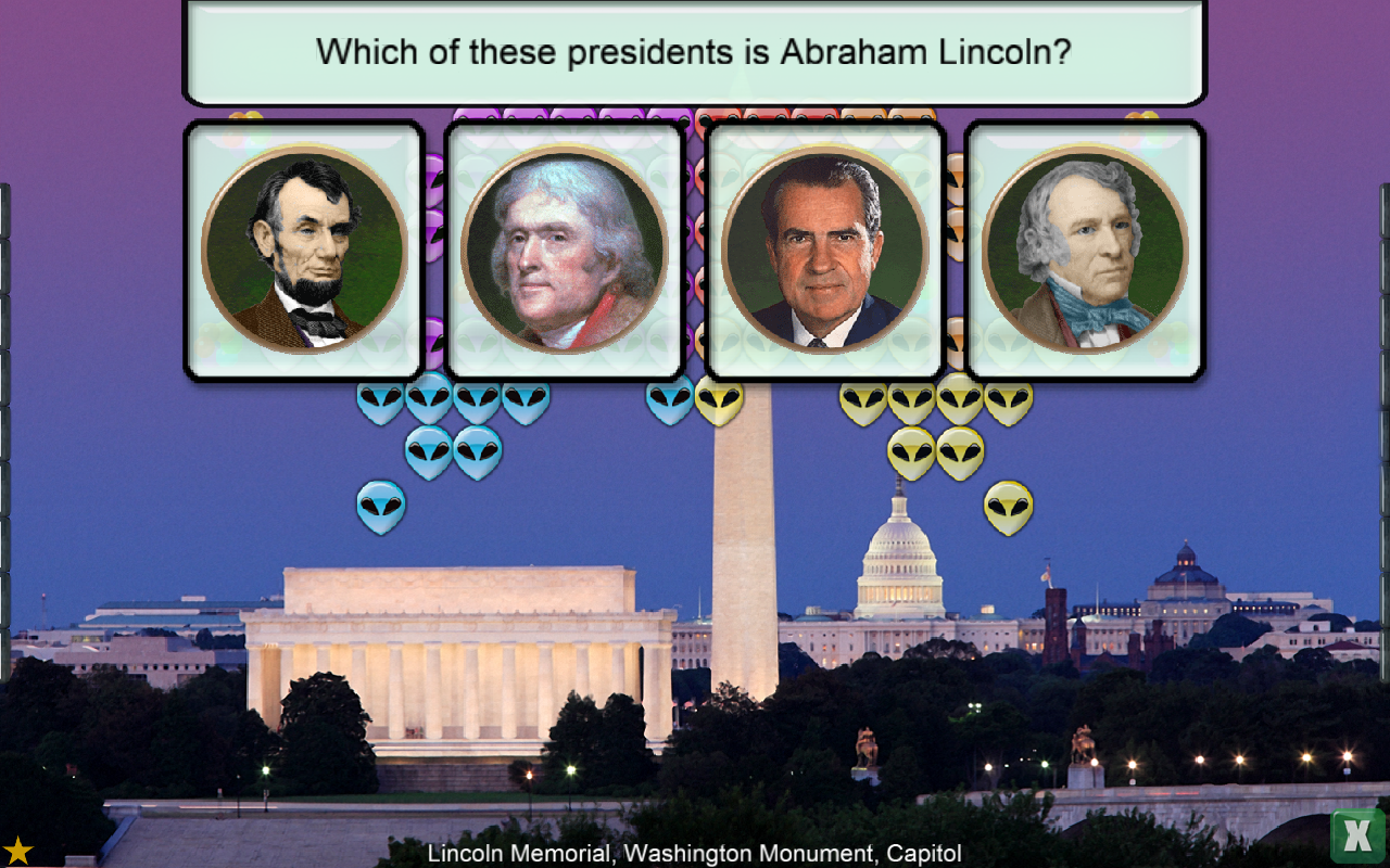 Presidents vs. Aliens®- screenshot