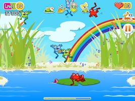 Screenshot of The Froggies Game