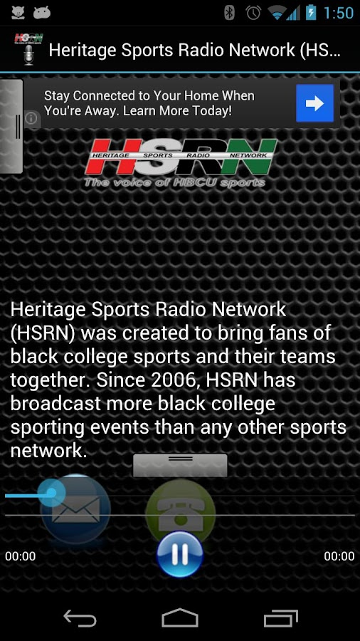 Heritage Sports Radio Network - screenshot