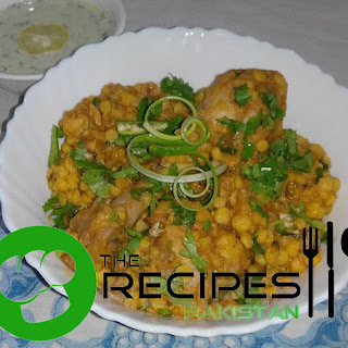 Chicken Daal Karahi Recipe