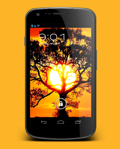 【免費個人化App】Sun and Tree Live Wallpaper-APP點子