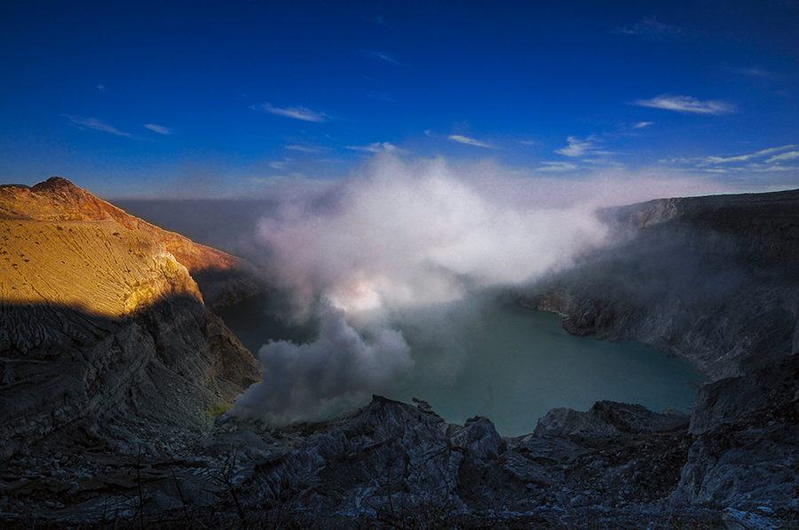 The Ijen Crater by Alan Fadlansyah - Landscapes Mountains & Hills ( crater, mountain, fadlansyah, ijen, landscape )