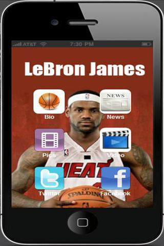 LeBron James - screenshot