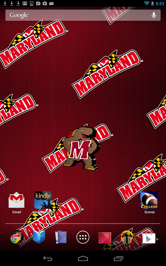 Maryland Terps Live Wallpaper- screenshot