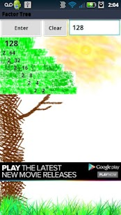 Factor Tree - screenshot thumbnail
