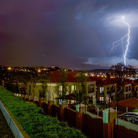 Thunderbolts and Lightning by Alexius van der Westhuizen - Landscapes Weather ( thunder, lightning, summer, electric storm, rain,  )