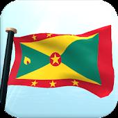 Grenada Flag 3D Free Wallpaper