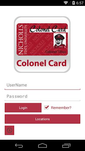 Colonel Card