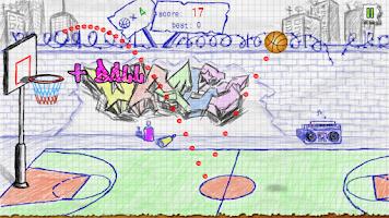 Screenshot of Doodle Basketball