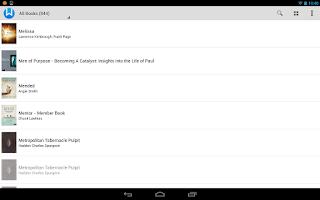 Screenshot of WORDsearch Bible