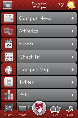 University of Denver- screenshot