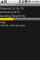 Screenshot of Bluetooth OPP PUT for 1.6 Lite