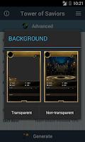 Screenshot of Card DIY: Tower of Saviors