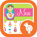 Matryoshka Dolls Theme SMS icon