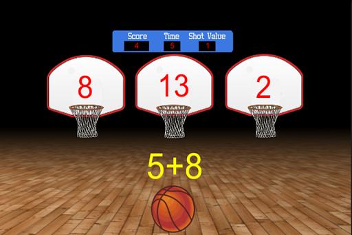 Basketball Target Math