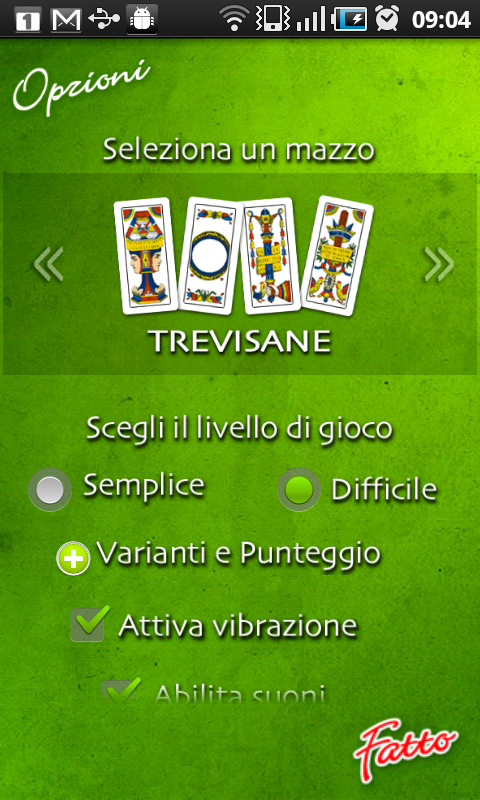 Scopa - screenshot