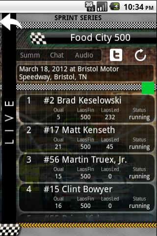 Live Nascar: Ultimate Edition- screenshot