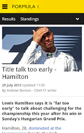 BBC Sport Screenshot 41