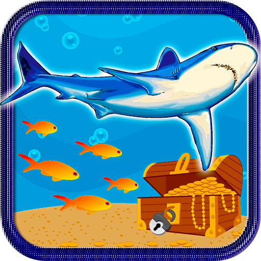 Shark Treasure Discovery Free LOGO-APP點子