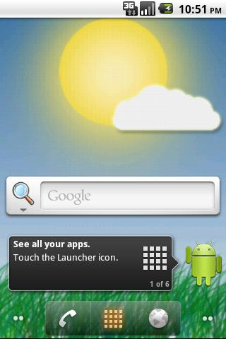Meteo Wallpaper - screenshot