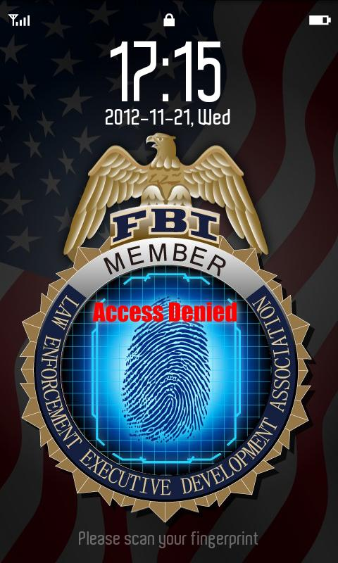 FBI FingerPrint - screenshot