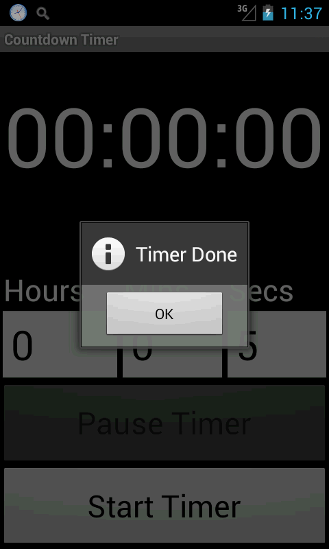 LARGE Timer - screenshot