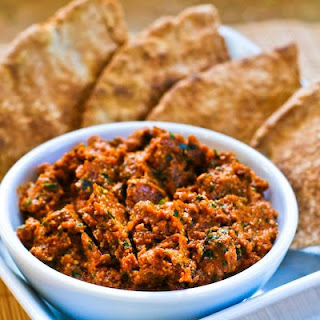 Sun-Dried Tomato Tapenade with Garlic and Herbs.