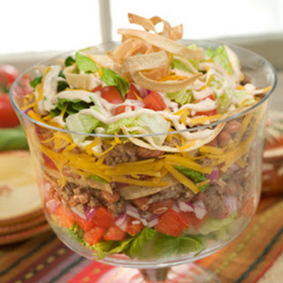 Chipotle Ranch Taco Salad.