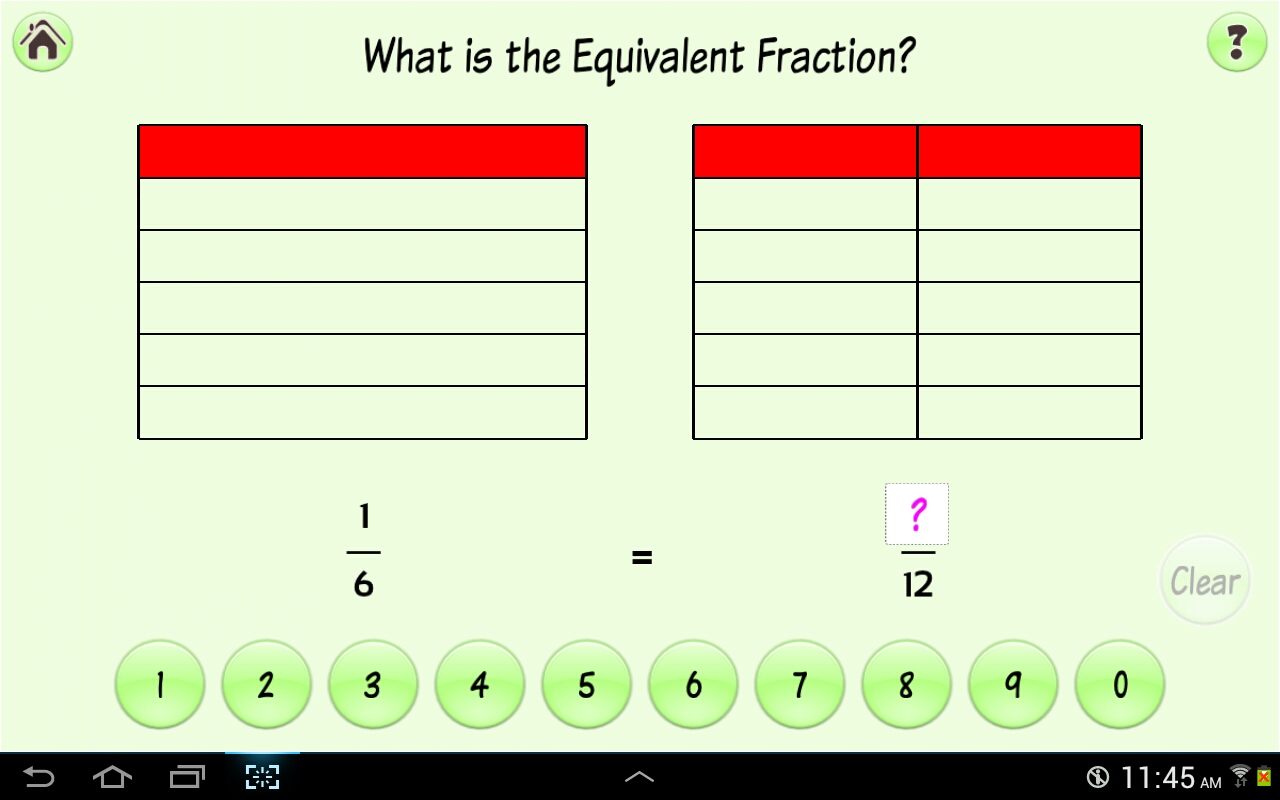 Simply Fractions 2, math games- screenshot