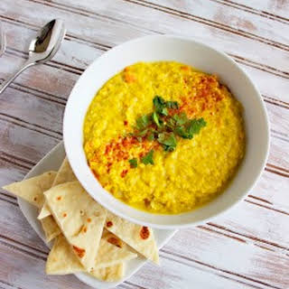 Smoky Curried Coconut Red Lentil Soup.