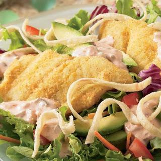 Southwestern Fish Taco Salad