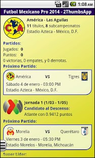 Soccer Mexican League - screenshot thumbnail