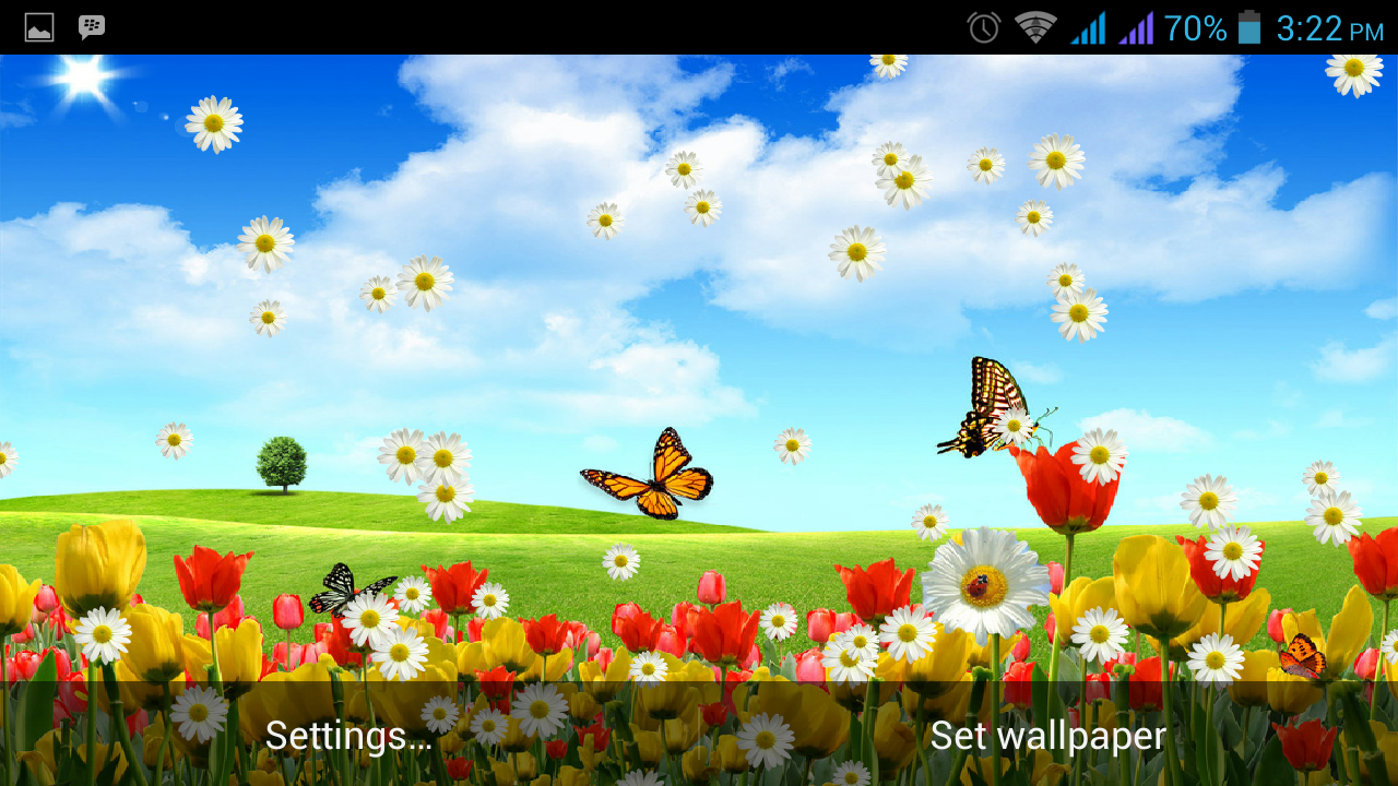 spring flowers live wallpaper android apps on google play