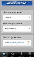 Screenshot of Gemeentegids