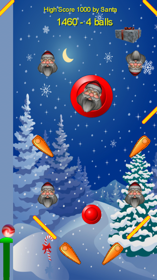 Santa Pinball- screenshot