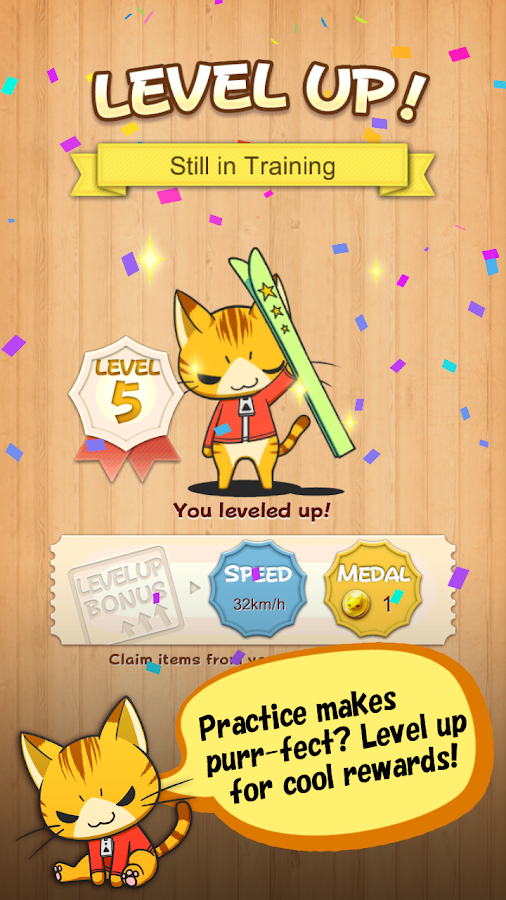 LINE Neko Copter - screenshot