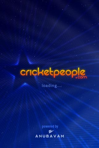 Cricket People.com- screenshot