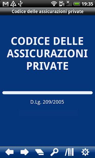 Italian Private Insurance Code