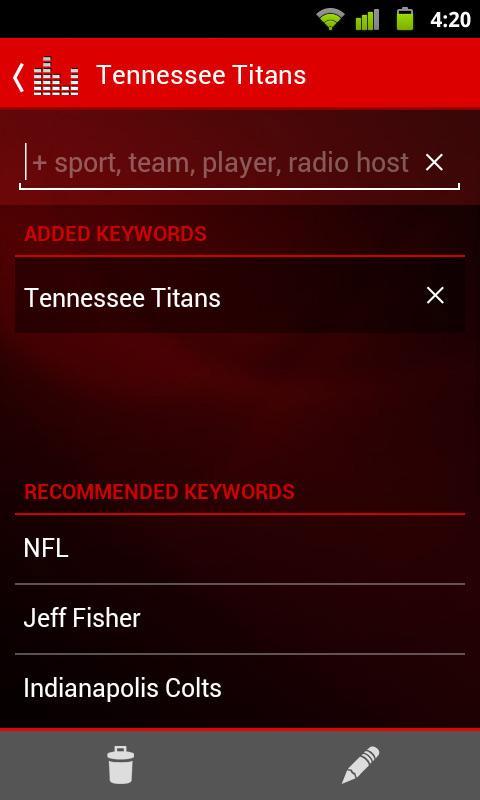 ESPN Radio screenshot #6