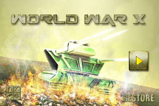 World War X - Free Tank Fight