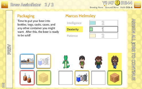 Fiz : Brewery Management Game Screenshot 8