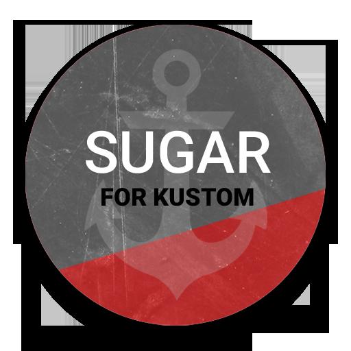 Sugar for Kustom LOGO-APP點子